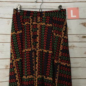 LuLaRoe Madison Skirt - Size L